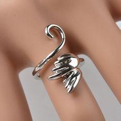 Mens women ring retro couples tail, rock rings