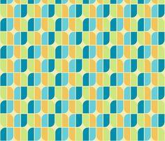 mirrah leaf bright fabric by holli_zollinger on Spoonflower - custom fabric