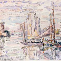 Węgiel i akwarela - 'Le Port de la Rochelle', 1927 - Paul Signac Link do kolekcji 75 obrazów artysty w DCN Gallery👉bit.ly/2jmRBWs  #dcngallery #drawings #obrazy #fineart #malarstwo #paint #obrazynaplotnie #artgallery #fotoobrazy #modernart #sztuka #inspiration #reprodukcje #abstractart #canvasart #abstract #galeriasztuki #interiordesign #dekoracje #art #obrazywroclaw #painting #artysta #design #graphicdesign #artwork #artist #drawing #paulsignac #canvas