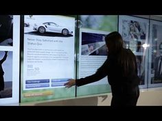 T1Visions Interactive inTouch Wall at SAP Executive Briefing Center - YouTube Video