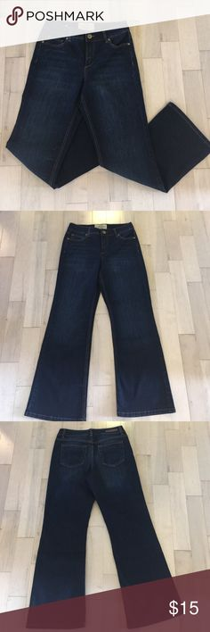 Women's Ruff Hewn jean Nice dark jean color and clean cut look. Classic boot cut! Ruff Hewn Jeans Boot Cut