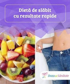 Dietă de slăbit cu rezultate rapide — Doza de Sănătate - Lo Que Necesitas Saber Para Una Vida Saludable Le Diner, Calories, Health Fitness, Healthy Recipes, Keto, How To Make, Metabolism, Food, Exactement