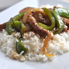 Pepper Steak from Tasty Kitchen Asian Recipes, Beef Recipes, Cooking Recipes, Healthy Recipes, Paleo Ideas, Rice Recipes, Tasty Kitchen, Beef Dishes, Food Dishes