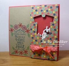 Pals June - Baby Shaker Card Right