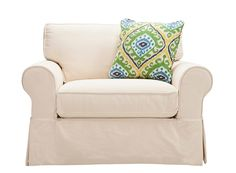 Lakeside Chair-and-a-Half | Living Room Chairs | Raymour and Flanigan Furniture & Mattresses