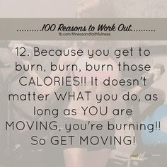 Fitness Motivation: 100 Reasons to Work Out #12