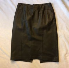 Popular Brand To The Max Clothing, Shoes & Accessories Shiny Black Gunmetal Wiggle Skirt Large Usa-made Bnwt