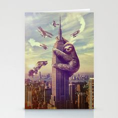 Sloth King Kong, coming to a city near you.