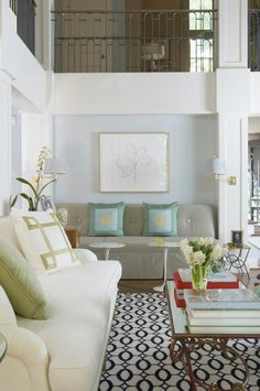 Jan Showers-love this space & rug