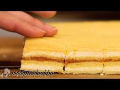 Mimóza szelet - YouTube Cornbread, Deserts, Chocolate, Cake, Ethnic Recipes, Food, Youtube, Millet Bread, Pie Cake
