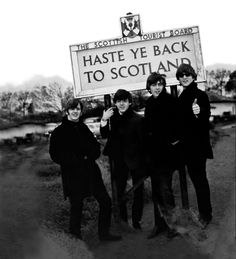 The Beatles in Scotland, October 1964