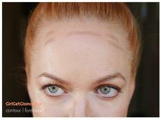 So konturieren Sie - Beauty Ideas from GirlGetGlamorous - Wedding Cream Contour, Contour Brush, Contour Makeup, What Is Contouring, Best Contouring Products, Makeup Tips, Hair Makeup, Elf Makeup, Drugstore Makeup