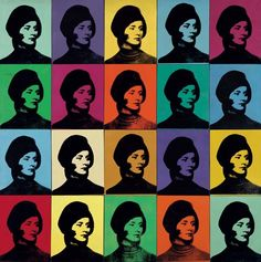 Andy Warhol, Miriam Davidson (1965). Photo: Private Collection © 2015 the Andy Warhol Foundation for the Visual Arts, Inc./Artists Rights Society (ARS), New York.