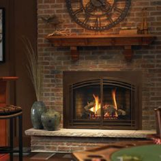 stone ventless gas fireplace inserts google search