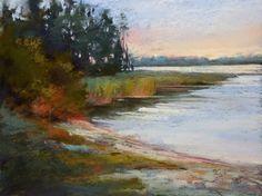 Painting My World Art Adventure: Pastel Workshop in Finland, painting by artist Karen Margulis