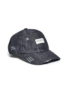 GUESS DENIM BASEBALL CAP