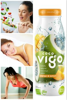 Zdrowy tryb życia: 1. jedz zdrowo 2. wysypiaj się 3. bądź aktywna 4. nawadniaj organizm... czyli pij Coco Vigo!