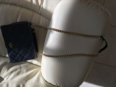 Kate Spade Cross Body Purse NAVY w Gold Chain - Never Used, Thought it was black when buying it.  I have the bone and fuchsia bags and get compliments on them.   Emerson Place Vivenna Mini Crossbody Bag Excellent for travel and cross body use.