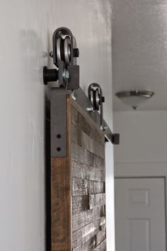 Barn Door Reveal