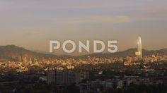 Timelapse Dawn Santiago de Chile - Video de Stock | by BucleFilms