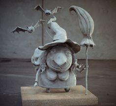 Witch, 3d design, Mauro Baldissera on ArtStation at https://www.artstation.com/artwork/witch-3d-design