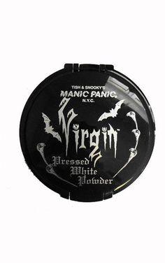 Manic Panic Virgin White Pressed Powder - £17