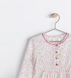 PRINTED SHIRT WITH CONTRASTING EDGING