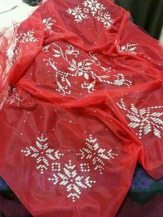 Alıntıdır Red Leather, Leather Jacket, Crochet Tablecloth, Hand Embroidery, Embroidery Ideas, Elsa, Jackets, Facebook, Fashion