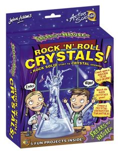 John Adams Freaks of Nature - Rock N Roll Crystals  Wild rock formations  http://www.comparestoreprices.co.uk/science-and-discovery-toys/john-adams-freaks-of-nature-rock-n-roll-crystals.asp