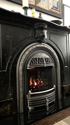 The Windsor gas insert offers true vintage stye and Victorian elegance to your fireplace while providing exceptional heating efficiency Small Fireplace, Brick Fireplace, Fireplace Design, Fireplace Mantels, Victorian House Plans, Victorian Homes, Piano Room Decor, Fireplace Dimensions, Gas Insert