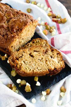 Buttermilk Rhubarb Bread