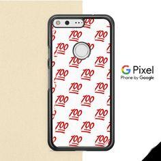 Keep It One Hunnit 100 Emoji Google Pixel Case
