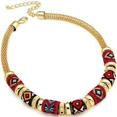 New tribal necklace..