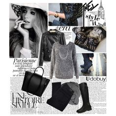 """news on paper"" by monmondefou on Polyvore"