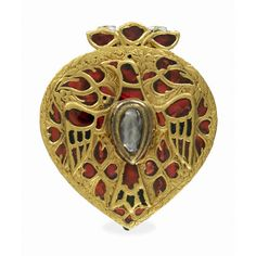 gold pendant Mughal 1700's