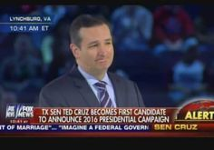 Liberty University Crowd GOES WILD as Ted Cruz Says: Imagine A President Who Stands With Israel (Video) Posted by Jim Hoft on Monday, March 23, 2015,>>>>>>video here