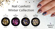 nail confetti for nail design- perfectnailsgreece