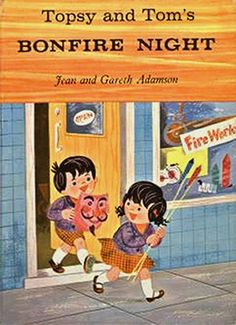Topsy & Tim Bonfire Night. Obviously no one told Topsy and Time that fireworks were dangerous and that they should only be handled by a responsible adult.