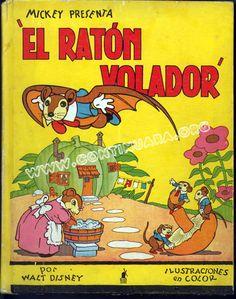 El ratón Volador. Año 1934