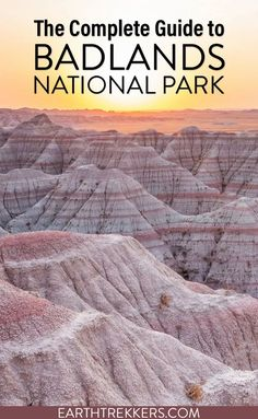 Best things to do in Badlands National Park, including the best hikes, best views, and best places to watch sunrise and sunset. Get sample itineraries, photography tips, and advice on how to have the best experience. #badlands #nationalpark