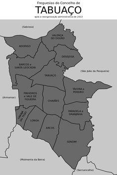 Freguesias do concelho de Tabuaço