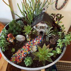 Affordable DIY Fairy Garden Ideas (13)