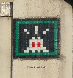 Space Invader PA_883_Artiste : #Invader_Paris (France)_Rue Curial (19è Arrt)_2017-01-20 © Hélène Ricaud (LNR)