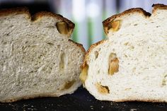 A classic, chewy, full-flavoured, rustic sourdough bread gets a little dressed up with roasted garlic cloves that are rolled into the dough when it is shaped. After baking, the loaves are brushed in extra virgin olive oil and sprinkled with super-fine sea salt.