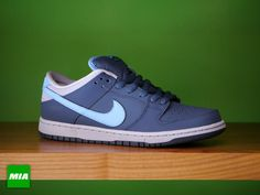 "Nike Dunk Low Pro SB ""Ford"" - squadron blue / university blue"