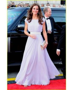 Chiffon Floor-length Bateau A-line Celebrity Dress #dress love this in purple