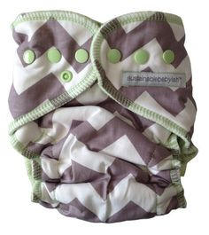 Sustainablebabyish+Sweet+Chevvie+OBF's+-+Fitted+Diaper