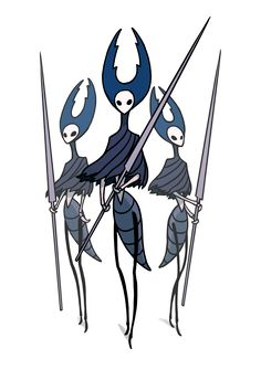 The Mantis Lords Hollow Knight