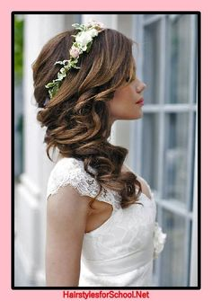 Wedding hairstyles for long hair 2017 #hairstyles #wedding #weddinghairstyles