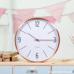 Reloj de pared 'Cosmopolitan' #mrwonderfulshop #decor #decoration #decohome #details #home #clock